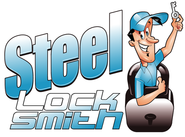 Steel Locksmith Logo